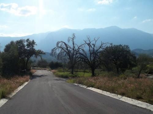 (crm-735-4645)  terrenos en santiago nuevo leon las misiones