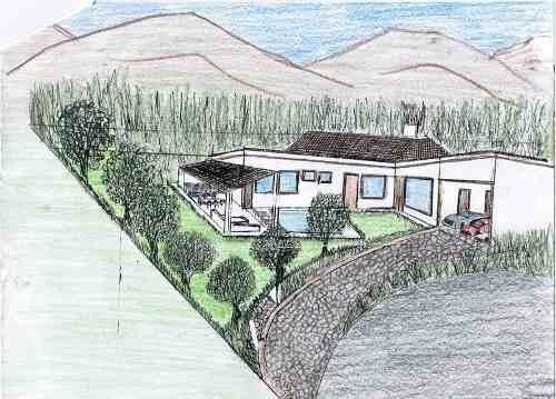 (crm-735-6273)  terreno en venta en santiago nuevo leon en las misiones