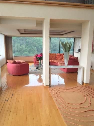 (crm-758-2281)  bonito departamento en renta en residencial terranova, bosque de tabachines, bosques de las lomas, méxico d.f.