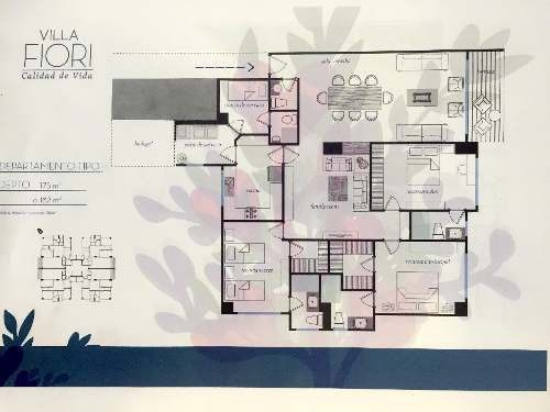 (crm-758-2417)  departamento en venta en residencial villa fiori, interlomas