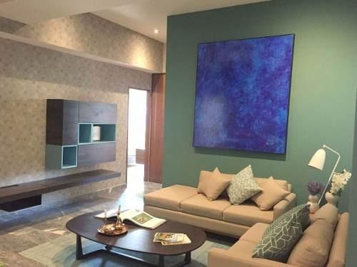 (crm-758-2423)  ultimo departamento en venta en residencial villa fiori, interlomas.
