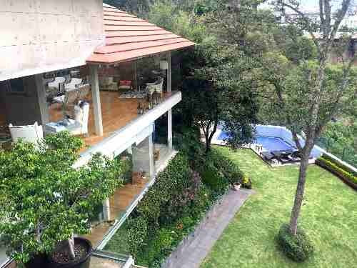 (crm-758-2916)  espectacular casa en venta en la punta bosques de las lomas