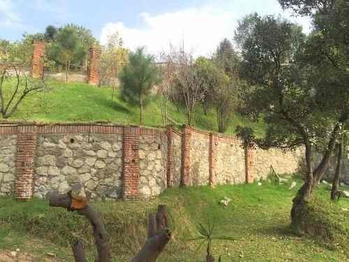 (crm-758-3184)  terreno en venta en santiago yanhuitlalpan, huixquilucan, edo. de méx.