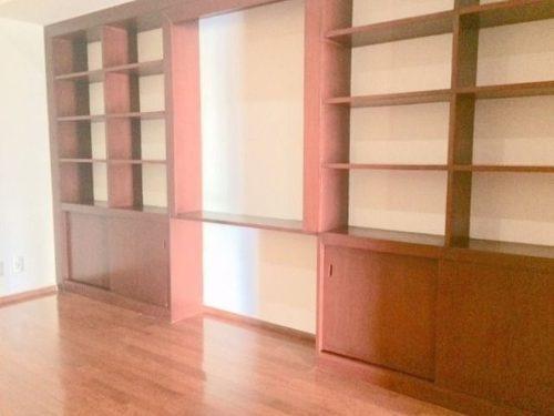 (crm-758-4019)  departamento en renta en residencial frondoso ii, lomas country club.