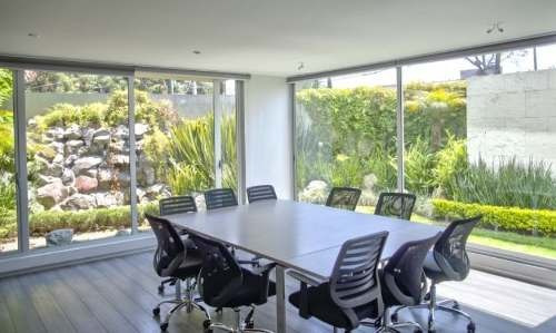 (crm-758-4073)  oficina en renta  amueblada en tecamachalco, tecamachalco, edo. mex.