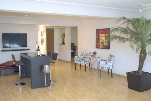 (crm-758-4334)  departamento en renta en amueblado en residencial privilege, huixq.