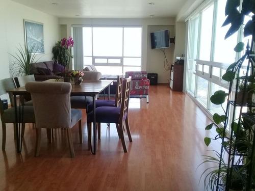 (crm-758-4401)  departamento en venta en residencial toledo,interlomas, huixquilucan