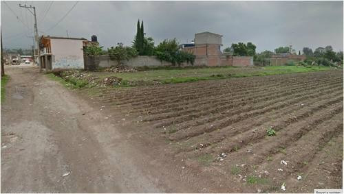 (crm-92-2592)  terreno de uso habitacional en san martín cuautlalpan, chalco edo. de  mexico