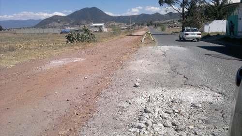(crm-92-3258)  terreno residencial. venta, fraccionamiento la purísima, ixtlahuaca. estado de méxico