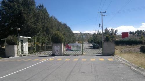 (crm-92-3259)  terreno residencial. venta, fraccionamiento la purísima, ixtlahuaca. estado de méxico