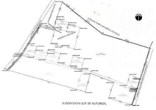 (crm-92-8726)  valle hermoso, terreno habitacional, venta, zumpango, edo mex.