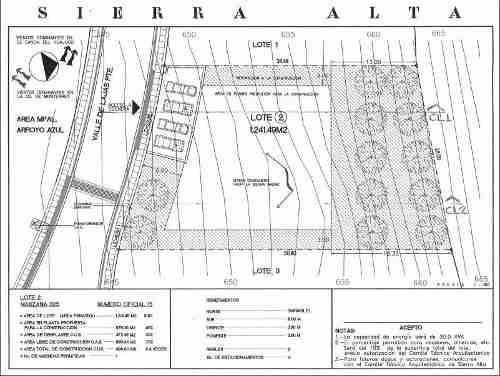 (crm-989-1047)  (acc) oportunidad terreno en venta en sierra alta rincon del valle