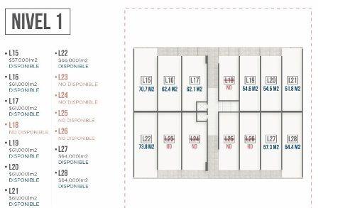 (crm-989-633)  (lct) oficinas en preventa en centrito valle