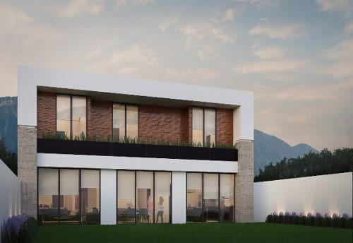 (crm-989-848)  (csm) hermosa casa contemporánea en pre-venta, en cantizal