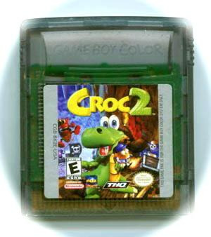 croc 2  / game boy color gbc / gameboy advance gba
