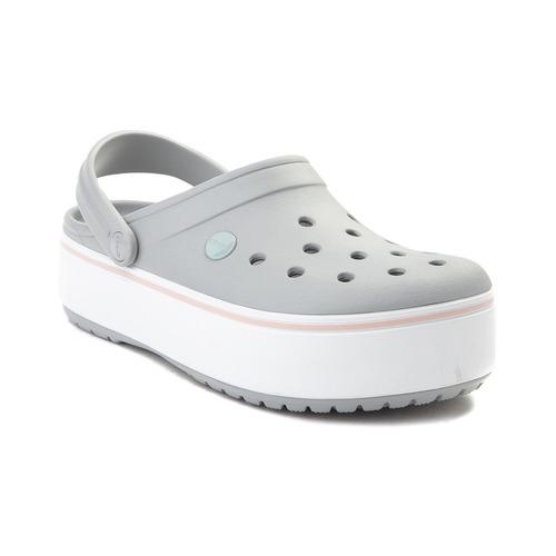 crocband platform clog -  crocs plataforma
