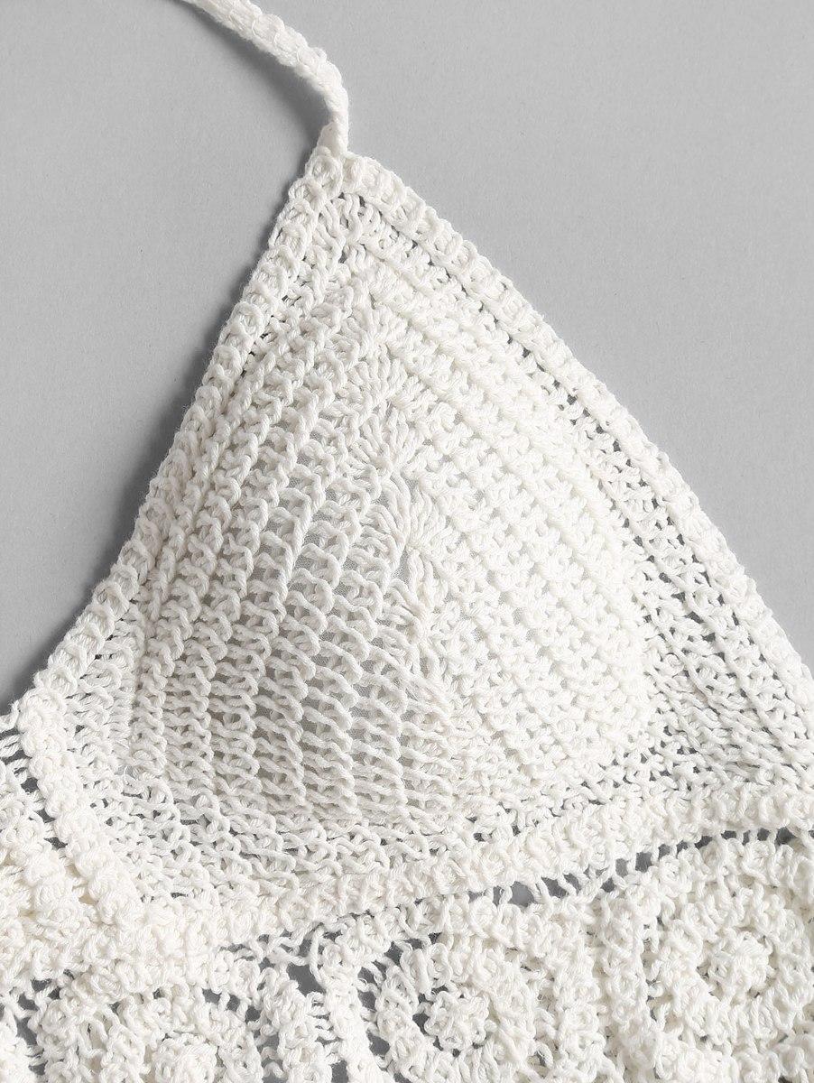 Croché Acolchado Bralette Cosecha Superior - $ 10.542 en Mercado Libre