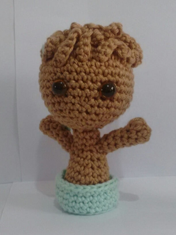 Crochet Baby Groot With Pot Amigurumi Tutorial | Häkeln fürs baby ... | 816x612