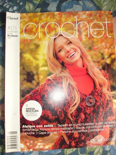 crochet - 2 números completos