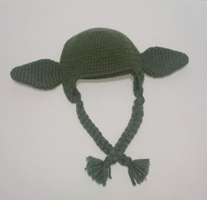 Crochet Gorritos Tejidos A Mano Yoda Star Wars Disfraz - $ 350.00 en ...