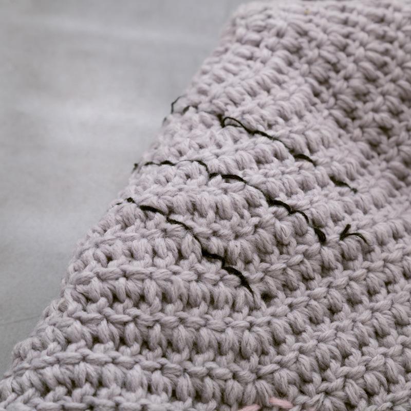 Crochet Nuevo Ronda Los Tapetes Y Alfombras Para Niños Deco ...