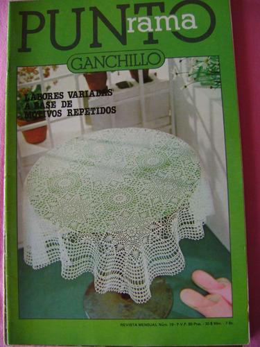 crochet revista puntorama ganchillo   tapetes