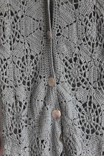 crochetchile chaleco mujer crochet talla m nuevo
