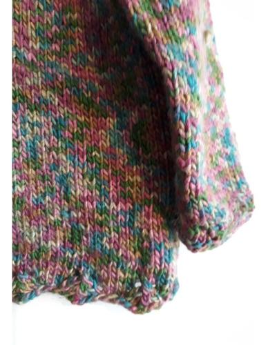 crochetchile sweater mujer talla l. envio gratis