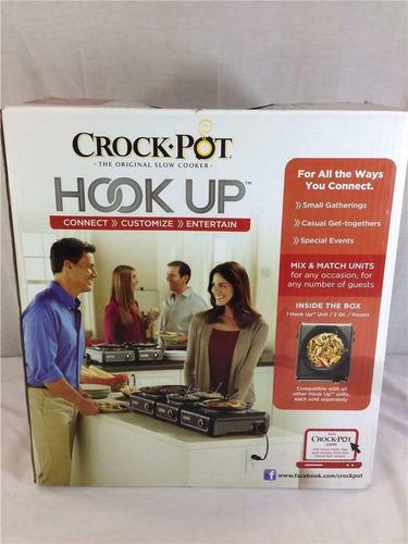 crock pot hook up olla de cocción de ceramica conectable