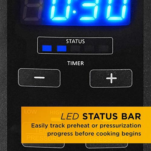 crock-pot sccppc600v1ds 6 6l . cacerola electrica., programa