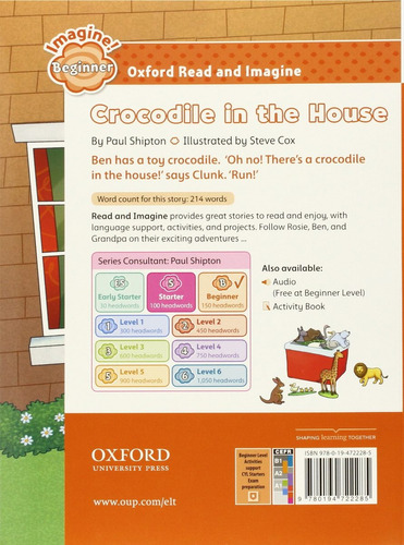crocodile in the house - beginner - oxford read and imagine