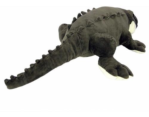 crocodilo - jacaré de pelúcia 80cm