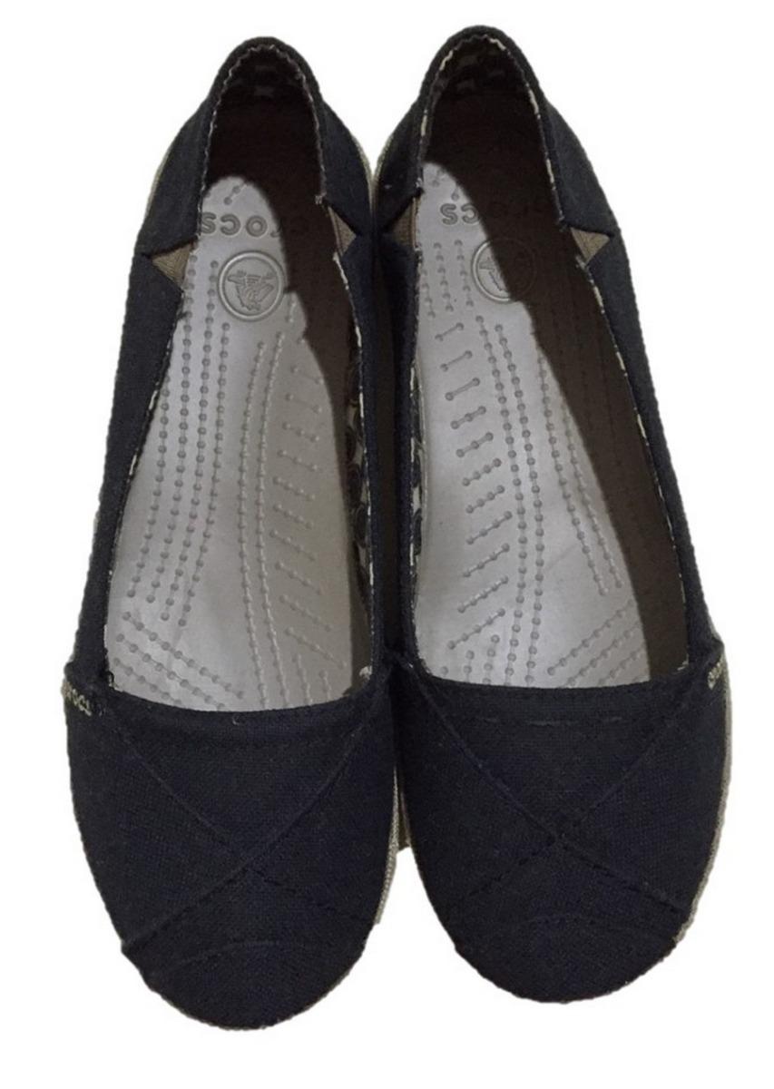 cost charm shop for newest deft design Crocs Angeline Flats Alpargatas De Tela 4 Mx / 7 Us