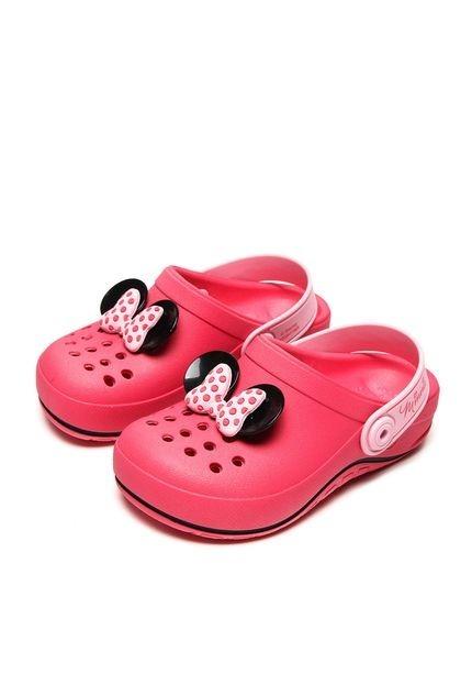 eaec7b4e1a crocs infantil minnie Crocs Babuche Infantil Disney Fairytale Minnie - Rosa  rosa - R  74