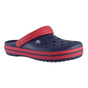 Crocs Crocband Azul/rojo