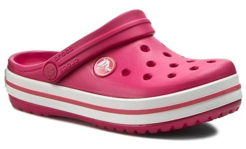 White Sports Crocband Mujer Crocs Raspberry Verano On 1JTlFKc