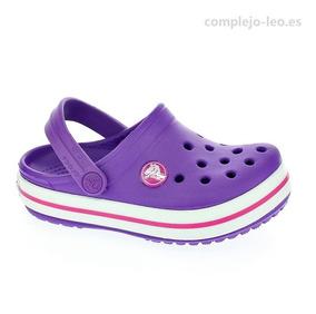 Violeta Original Crocband Niña Crocband Crocs Crocs sQCrhdt