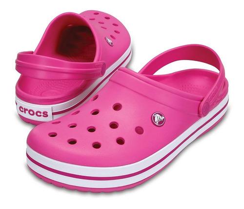 crocs crocband originales party pink - crocs uruguay