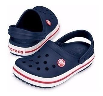 crocs crocband unisex adulto navi original