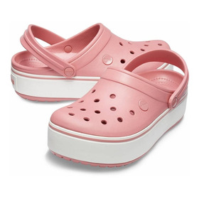 Crocs Croscband Plataforma Original Rose