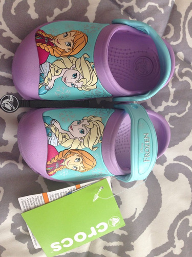 crocs de frozen originales