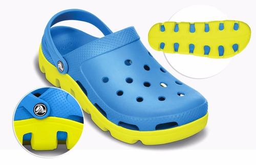 crocs duet sport graphic  15% off en tu segundo par