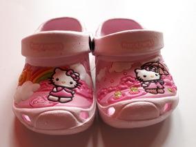 watch 729aa 29f73 Hello Kitty Hermosas Crocs De La Talla 18 Hata La 38 ...