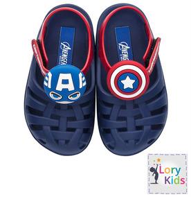 230fdd89d2 Sandalia Crocs Infantil Capitao America Grendene - Calçados
