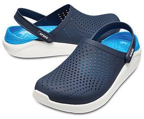precio competitivo 008cb 78d50 Crocs Literide Clog Azul Originales Hombre Envio Gratis