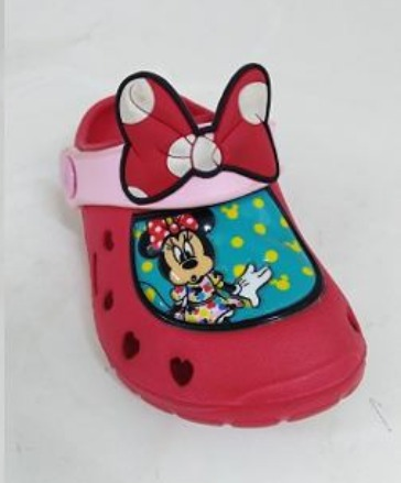 cce1d25cb Crocs Minnie Mouse Bebe Niña T19 - S  35