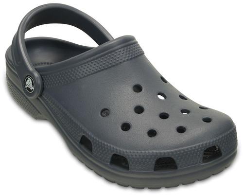 crocs originales classic gris  hombre