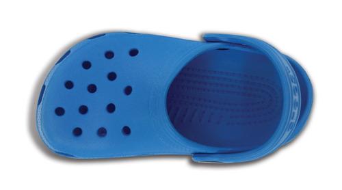crocs originales classic kids azul niños 456