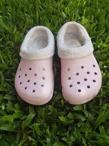 venta caliente la venta de zapatos brillo encantador Crocs Originales Corderito Piel Invierno Talle 31/32 (j1)