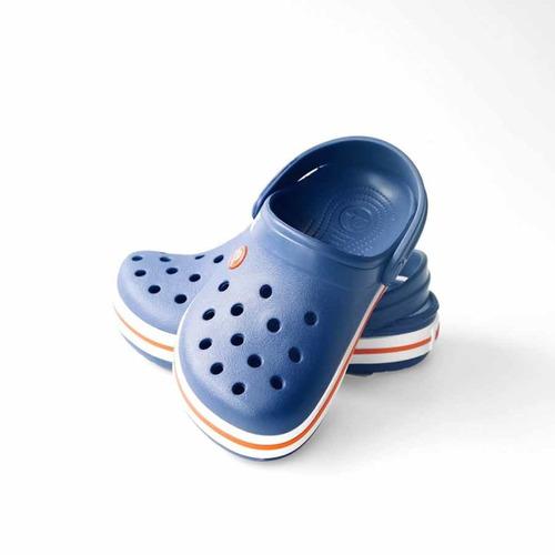 crocs originales crocband kids azul niños 4o5